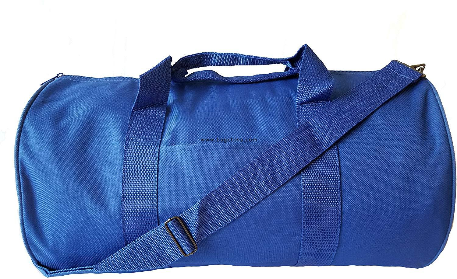 "18/"" NEW Polyester ROLL Duffle Duffel Bag Travel//Gym//Carry-On Sport Gym Fit Bag"
